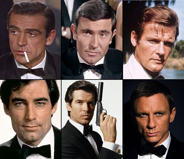 "When I say ""spy,"" you think of this guy. Well, one of these guys. Or maybe all of these guys. But you think about them. I know you do."