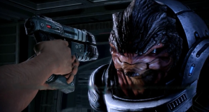Offer one hand, but arm the arm the other. Shepard proves that idealistic does not have to mean stupid.