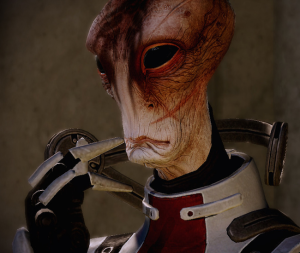 I am the very model of a scientist salarian. I've studied species turian, asari, and batarian.