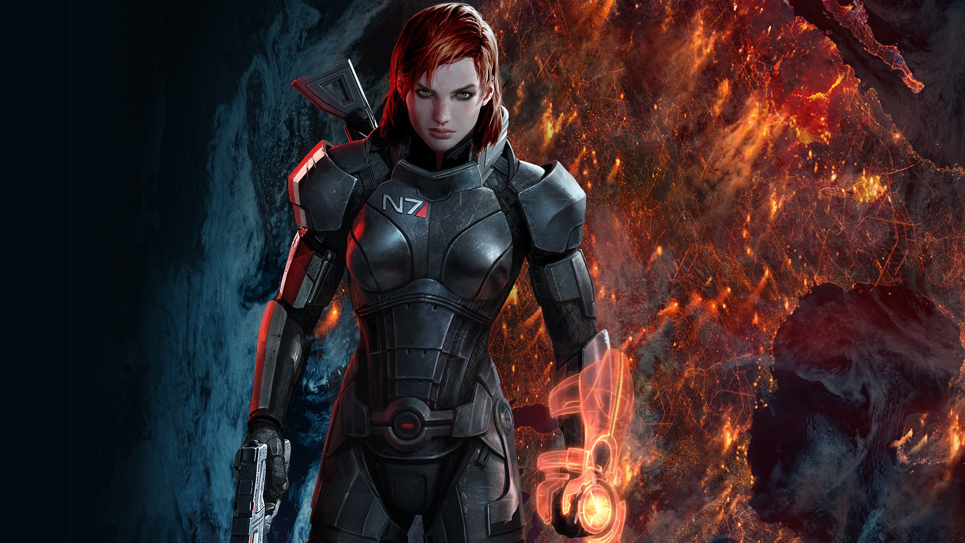 You can fight like a krogan, run like a leopard, but you'll never be better than Commander Shepard.