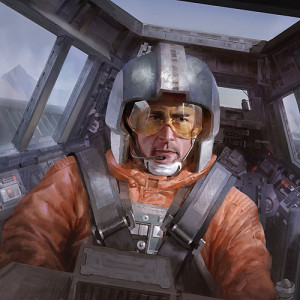 Wedge Antilles: Hero of the Rebellion. Good at flying, bad at dying.