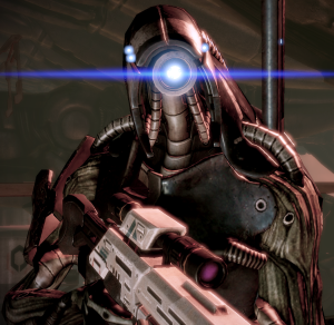 People in the Mass Effect universe are (rightfully) wary of the dangers of artificial intelligence, but that doesn't stop the geth from being treated as a full-fledged species.