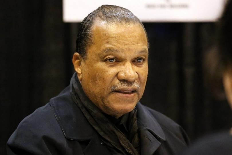 Pictured: Billy Dee Williams, not getting a call