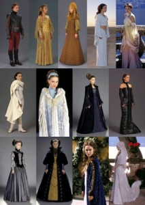 See, Padmé has more outfits than the rest of the saga's cast put together. Now that's what I call a wardrobe.