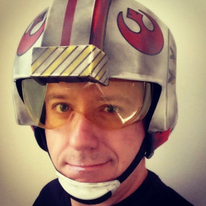 This is the face of the man who came up with the title for Rogue One. He seems like the sort of guy who wouldn't stumble his way into a Rogue Squadron reference by accident.