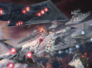 It has been suggested by some that Rogue One may feature the taking of Coruscant by the rebellion in the aftermath of Endor: if so, I can think of no better occasion to give the Galactic Civil War the epic fleet engagement it deserves.