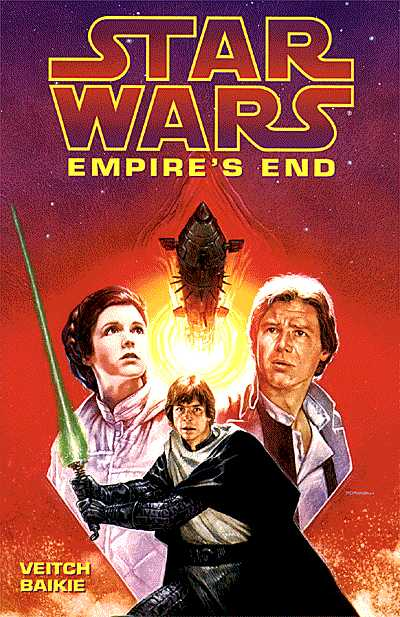 The Empire's End TPB, which I finally nabbed in the Star Tours gift shop in the early 2000s.