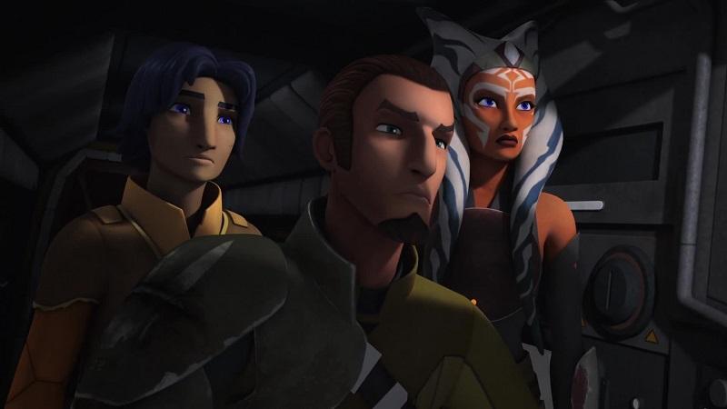 kanan and ezra meet ahsoka rebels