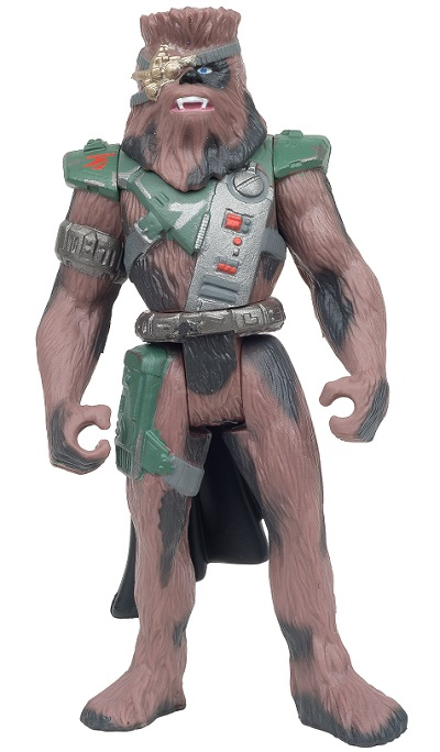 This is not a new Wookiee character; this is literally Chewbacca.