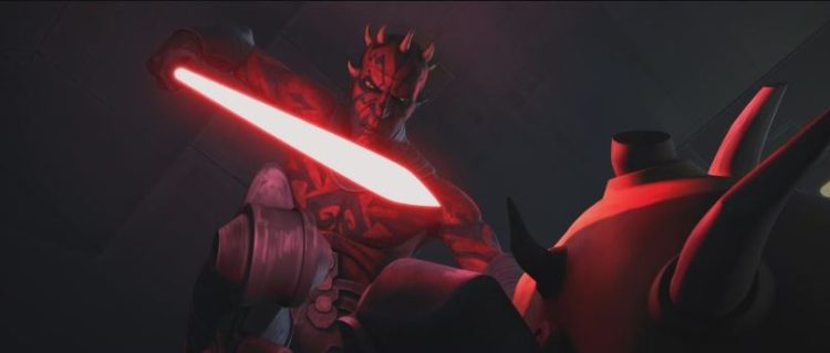 Maul bests Savage, forcing his brother into a Master-Apprentice dynamic.